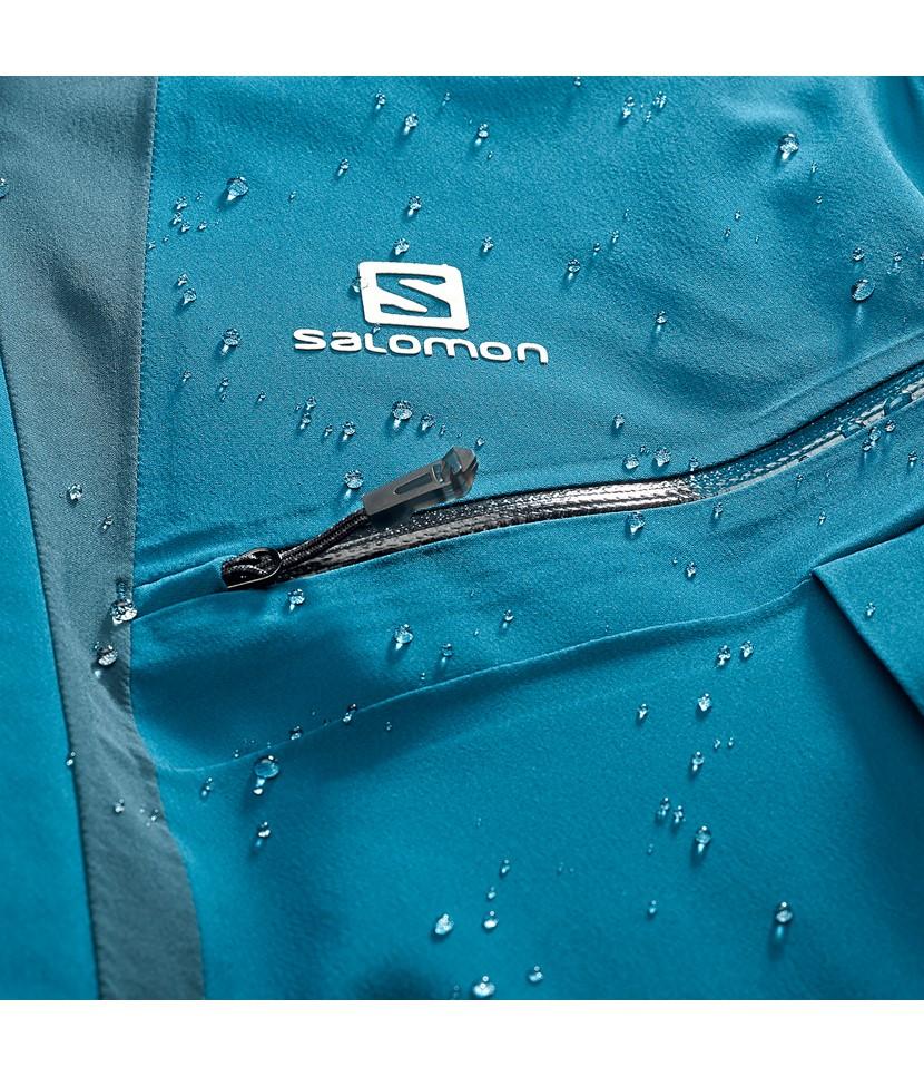 Salomon Icecool Jacket-Moroccan Blue 4.