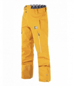 Picture Object Pant-Yellow