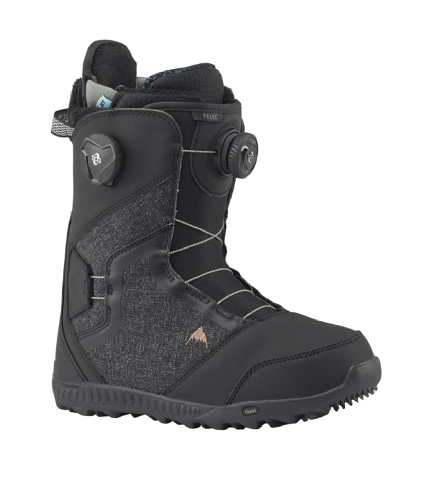 096288be35f Burton Felix Boa Black 2019 Snowboard Boots - Paul Reader Snow Sports