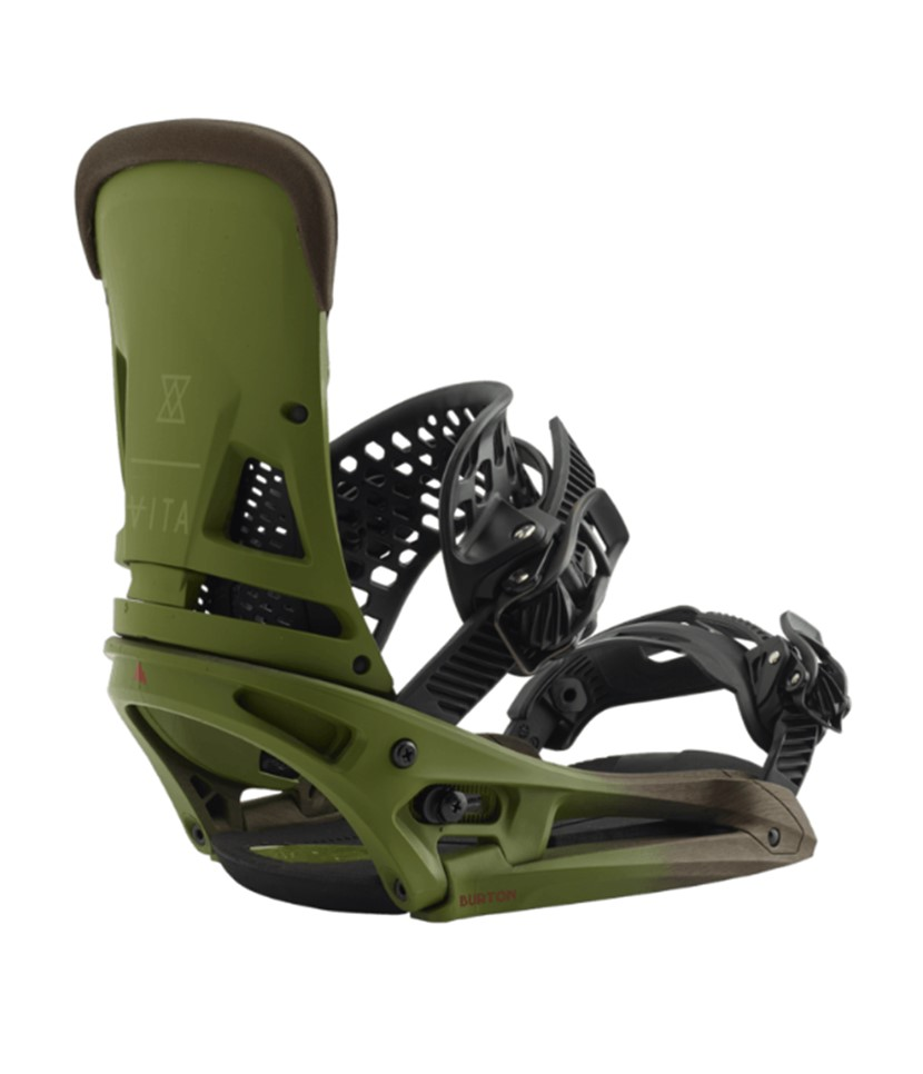 Burton Malavita EST Camp On Green 2019 Snowboard Binding