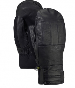 Burton Gondy Gore-Tex Leather Mitt-True Black