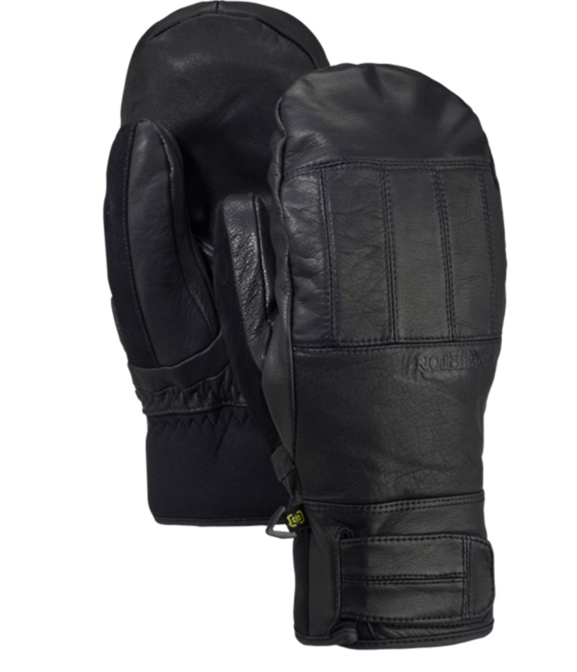 Burton Gondy Gore-Tex Leather Mitt-True Black
