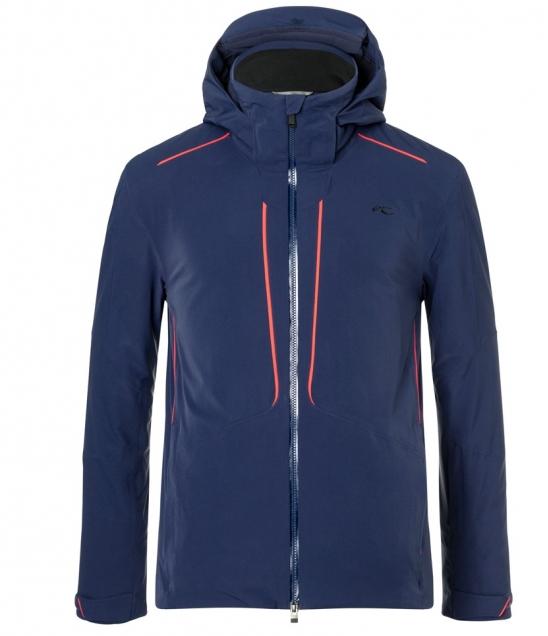 Kjus Boval Ski Jacket-Atlanta Blue
