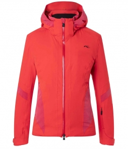 Kjus Laina Ski Jacket-Fiery Red