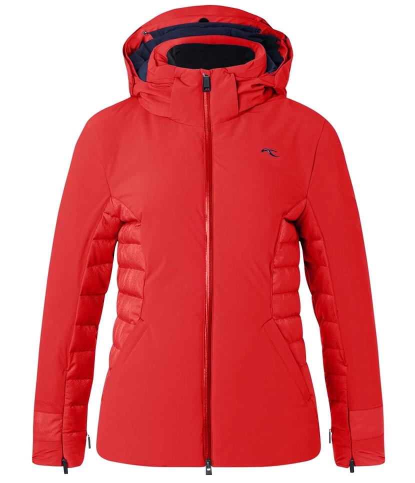 Kjus Scylla Ski Jacket-Fiery Red