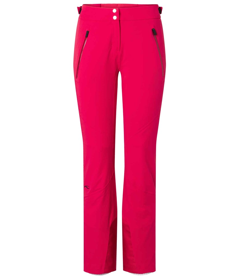 Kjus Formula Ski Pants-Crimson