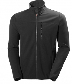 Helly Hansen Crew Softshell Jacket-Ebony