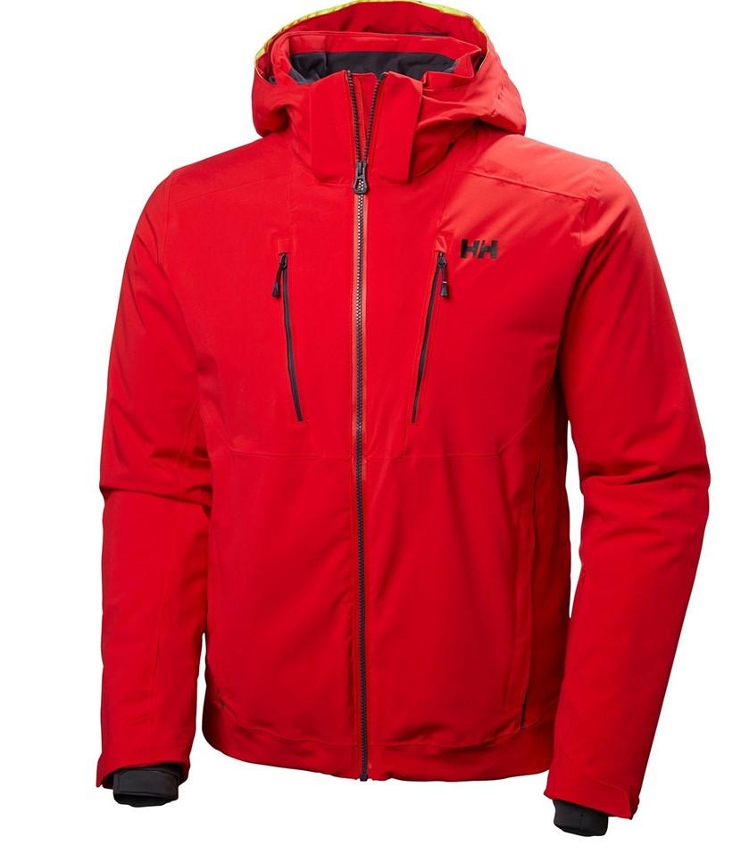 Helly Hansen Alpha 3.0 Jacket-Red Flag