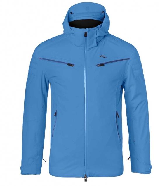 Kjus Formula Mens Ski Jacket-Aquamarine Blue