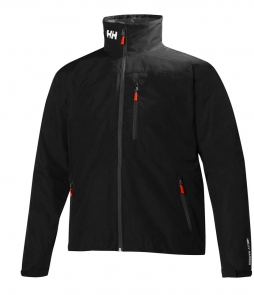 Helly Hansen Crew Midlayer Jacket-Black