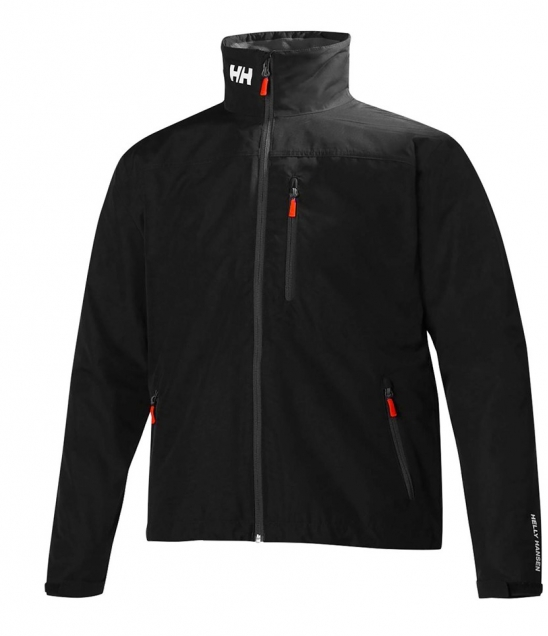 Helly Hansen Crew Midlayer Jacket-Black