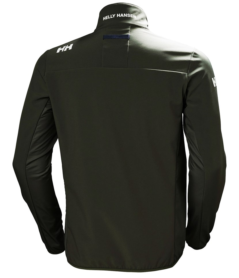 Helly Hansen Crew Softshell Jacket-Ebony 2.