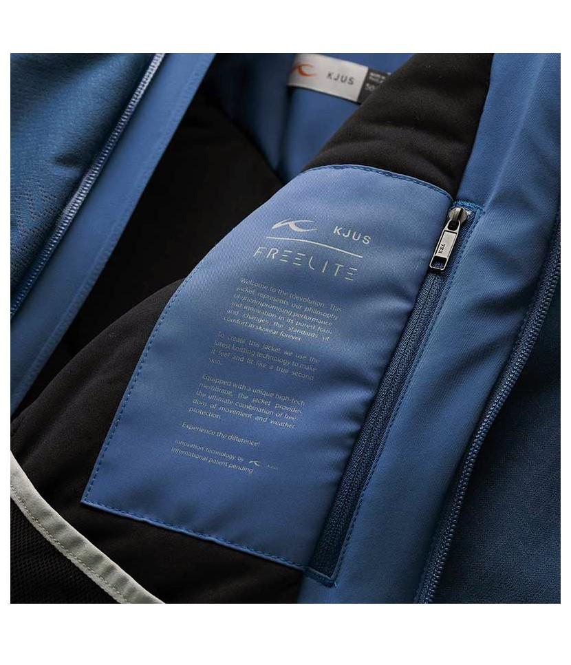 Kjus Freelite Ski Jacket-Atlanta Blue 2.