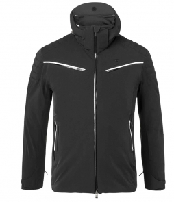 Kjus Formula Mens Ski Jacket-Black