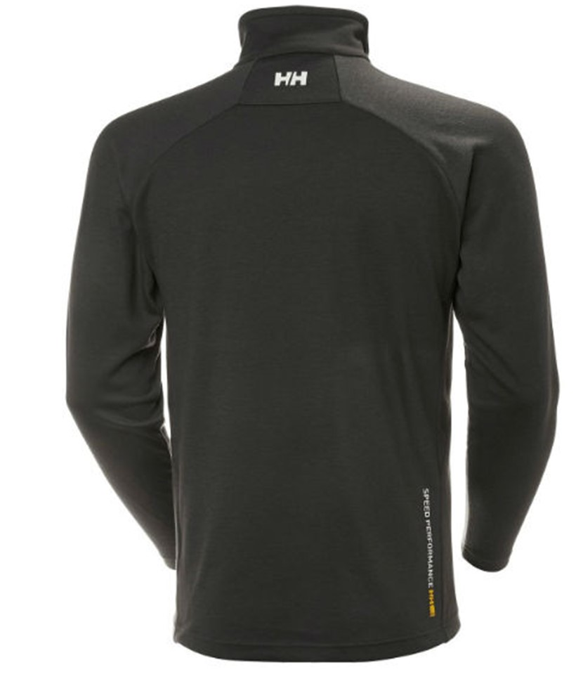 Helly Hansen HP Pullover Midlayer-Black 2.