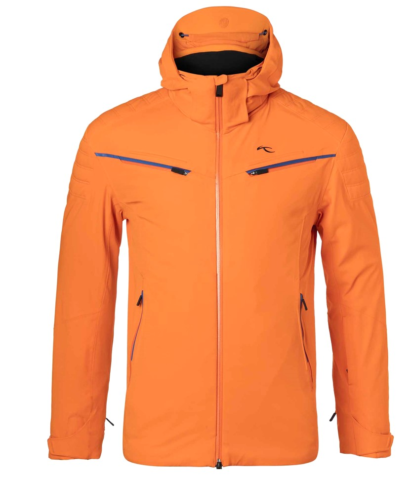 Kjus Formula Mens Ski Jacket-Kjus Orange