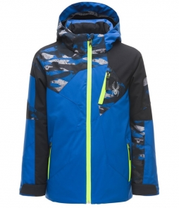 Spyder Leader Ski Jacket-Turkish Sea