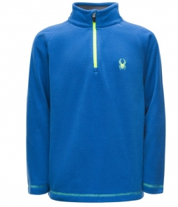 Spyder Kid's Mini Speed Fleece Midlayer-Turkish Sea