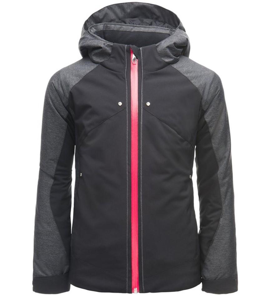 Spyder Girl's Tresh Ski Jacket-Black