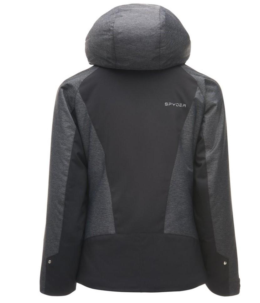 Spyder Girl's Tresh Ski Jacket-Black 2.