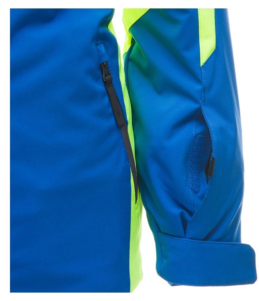 Spyder Challenger Ski Jacket-Yellow Turkish Sea 3.