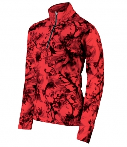 Karbon Shift Midlayer-Flower Print