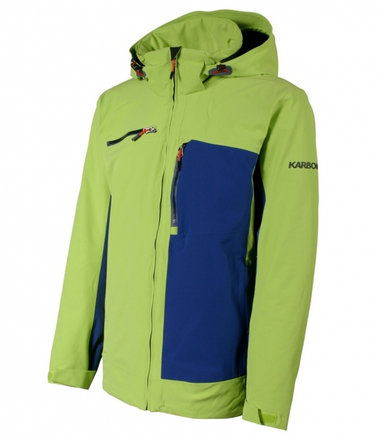 Karbon Stealth Jacket-Green Navy