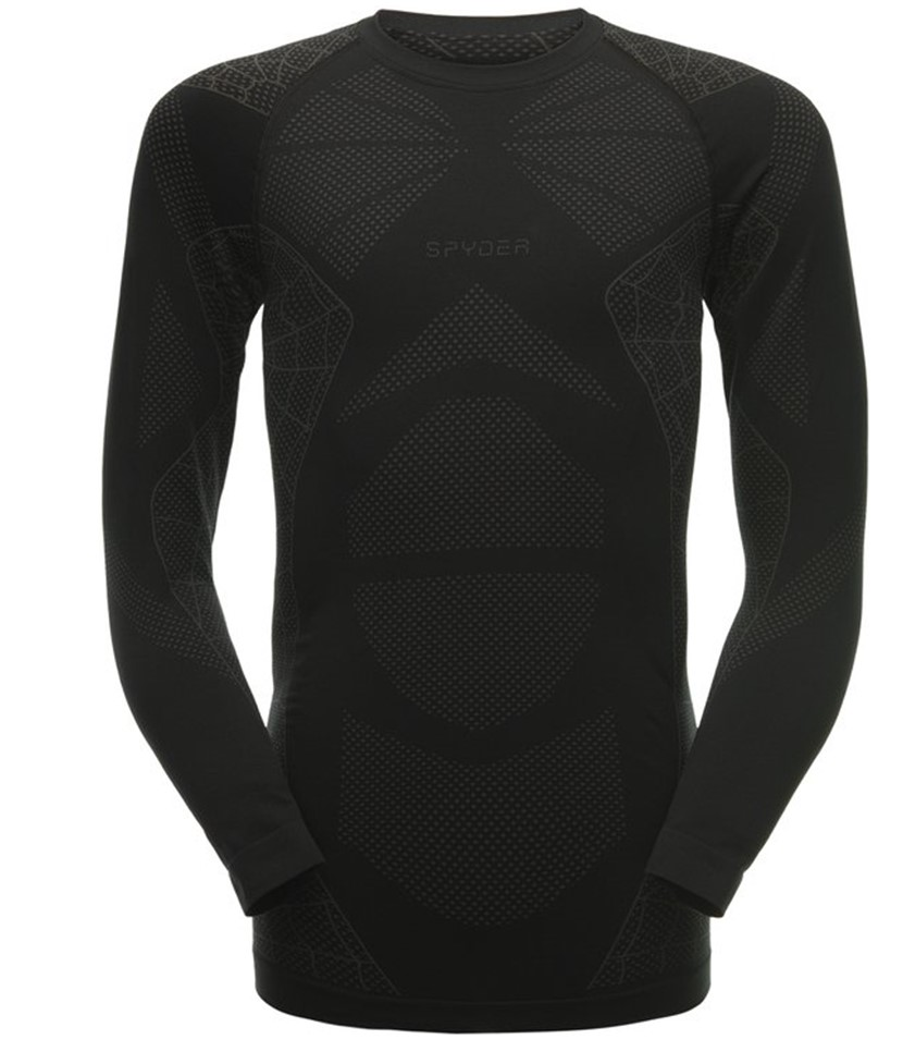 Spyder Captain Base Top-Black