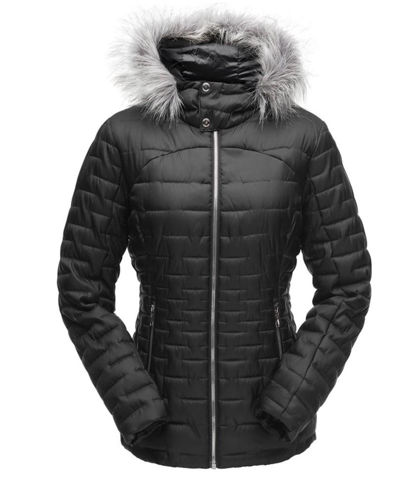 Spyder Edyn Hoody Insulator Jacket-Black