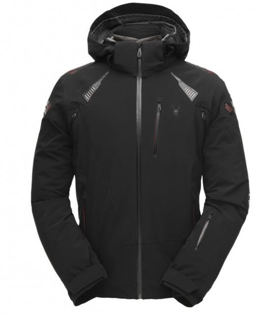 Spyder Pinnacle Ski Jacket-Black