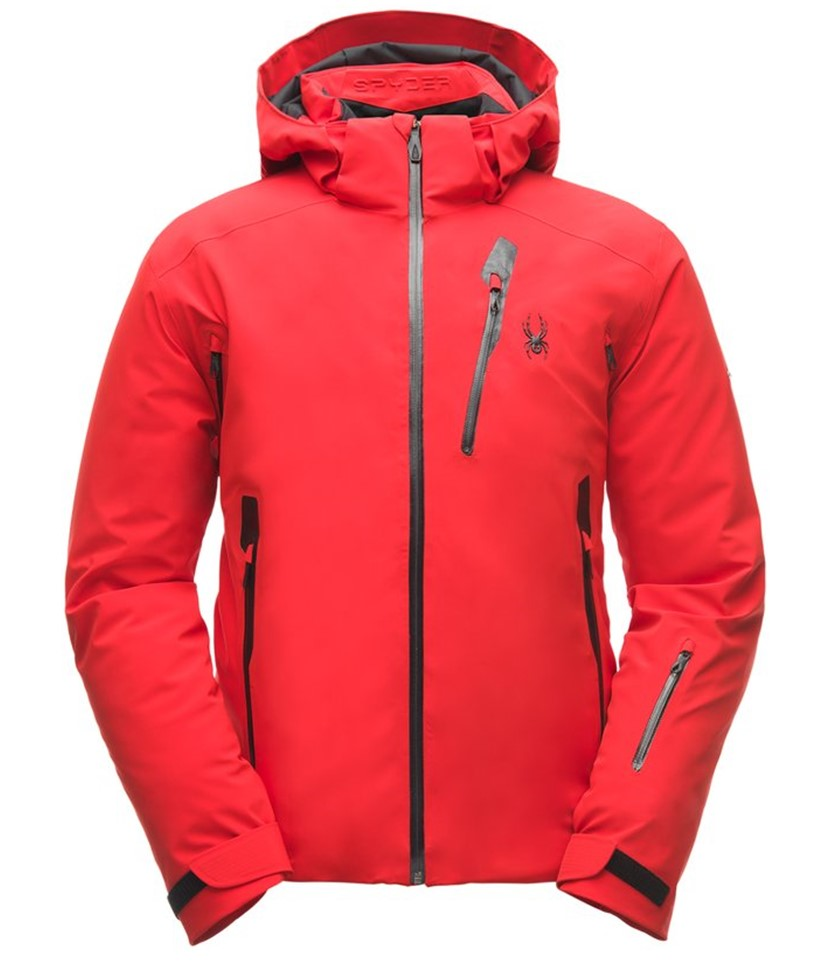 978c17b9c Spyder Vanqysh Ski Jacket-Volcano - Paul Reader Snow Sports