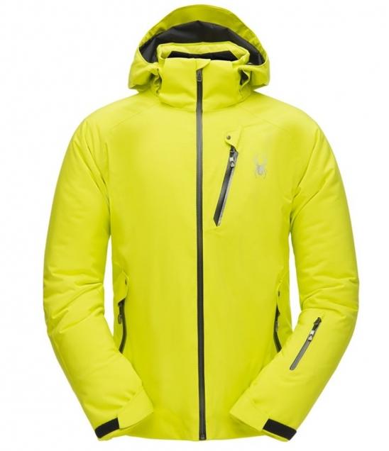 Spyder Tripoint Ski Jacket-Acid