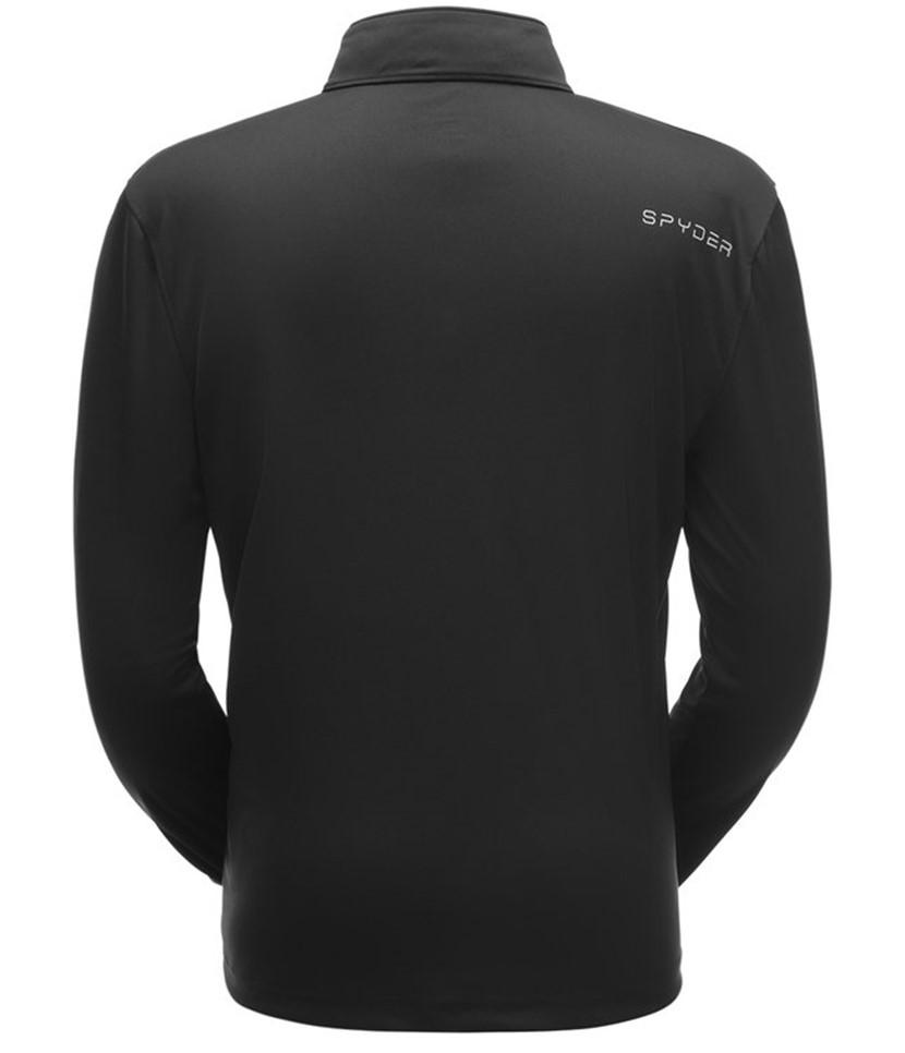 Spyder Limitless Solid Zip Mid-layer-Black 2.