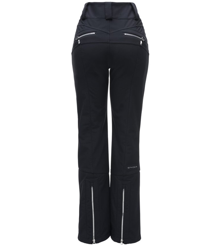Spyder Strutt Softshell Ski Pant-Black 2.