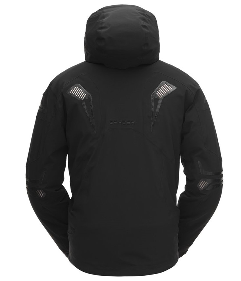Spyder Pinnacle Ski Jacket-Black 2.