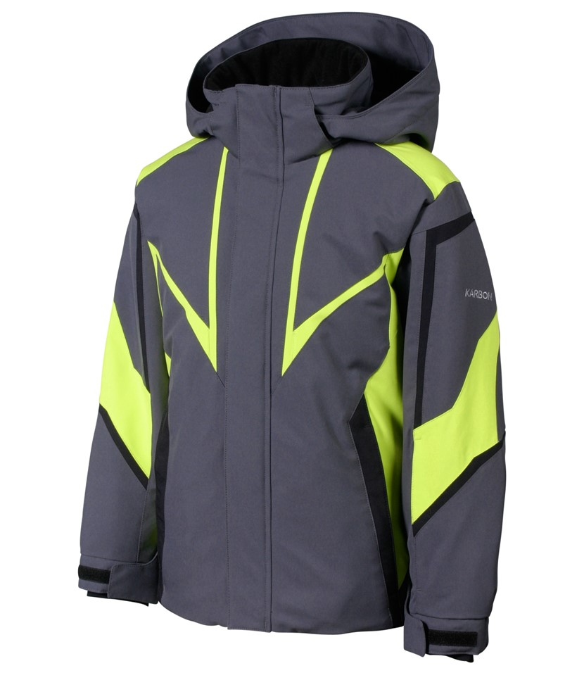 Karbon Maverick Jacket-Charcoal Sulphur