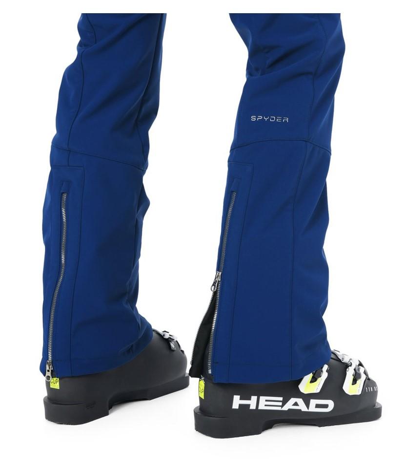Spyder Strutt Softshell Ski Pant-Blue Depths 3.
