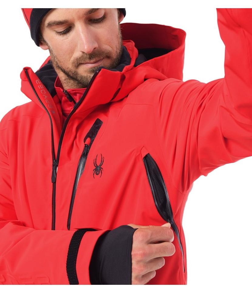 Spyder Vanqysh Ski Jacket-Volcano 3.