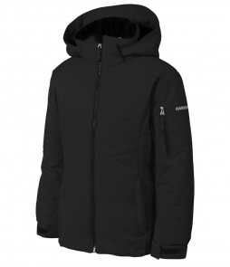 Karbon Nixie Jacket-Black puts comfy quilted design behind a waterproof-breathable barrier for all-weather winter protection. The jacket's 100-weight synthetic insulation strikes the right blend of warmth. Adjustable wrists with Lycra® cuffs