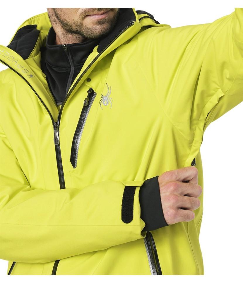 Spyder Tripoint Ski Jacket-Acid 3.