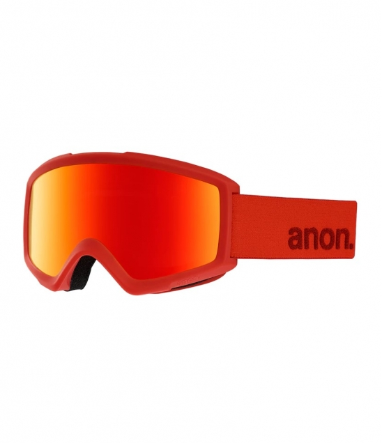 Anon Helix 2.0 Red w Sonar Red