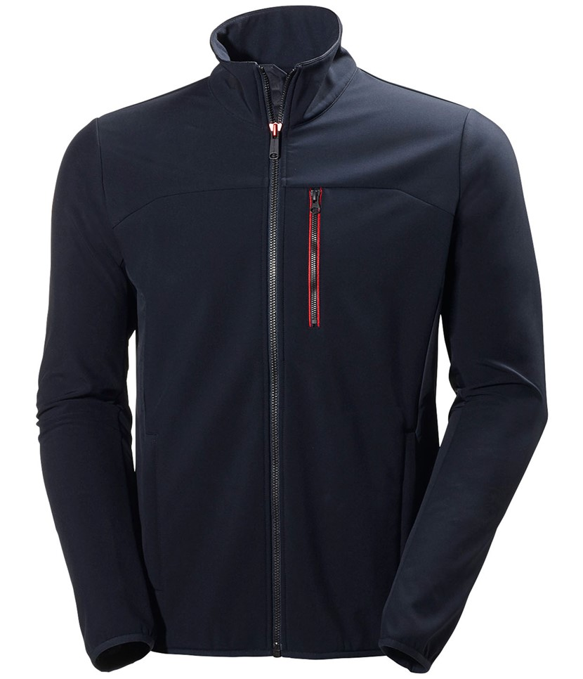 Helly Hansen Crew Softshell Jacket-Navy