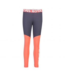 Mons Royale Christy Legging 9 Iron Poppy