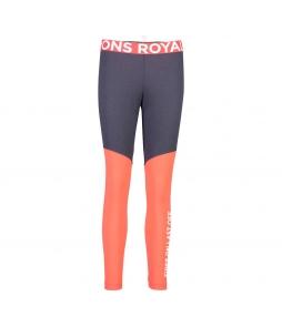 Mons Royale Christy Legging 9 Iron Poppy