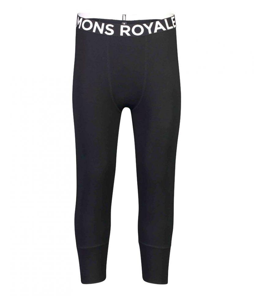 Mons Royale Shaun-off 3/4 Leg Black