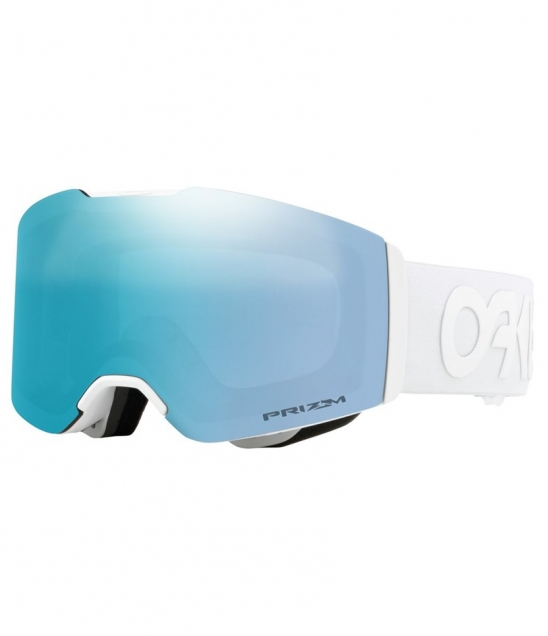 Oakley Fall line Factory Pilot Whiteout w Prizm Sapphire w Asian Fit Available