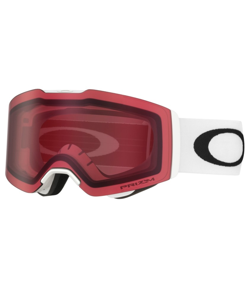 Oakley Fall line Matte White w Prizm Rose