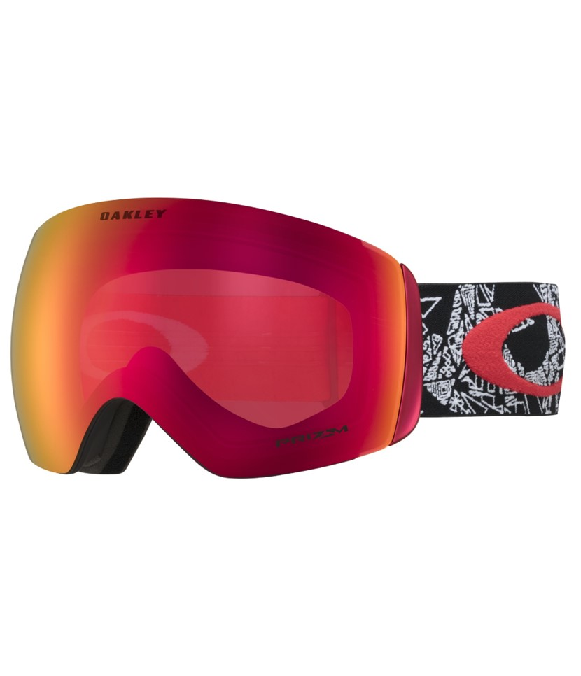 Oakley Flight Deck Seth Craneos Muertos Red w Prizm Torch