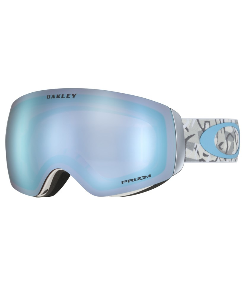 Oakley Flight Deck XM CamoVine Snow w Prizm Sapphire w Asian Fit Available