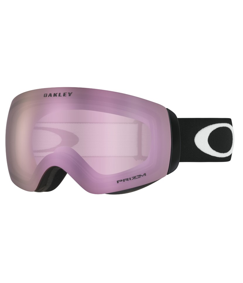 Oakley Flight Deck XM Matte Black w Prizm Hi Pink w Asian Fit Available